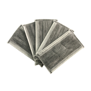 Non woven 4-Ply Active Carbon Filter Face Mask