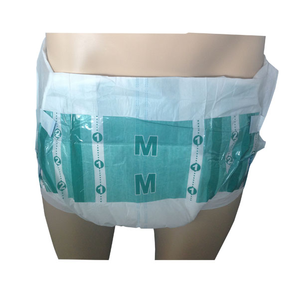Disposable Breathable Diaper Type and Fluff Pulp Material Adult Diaper