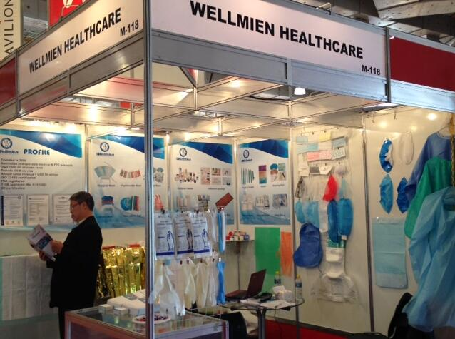 Wellmien attended the Hospitalar Exhibition 2015 in Sao Paulo, Brazil.