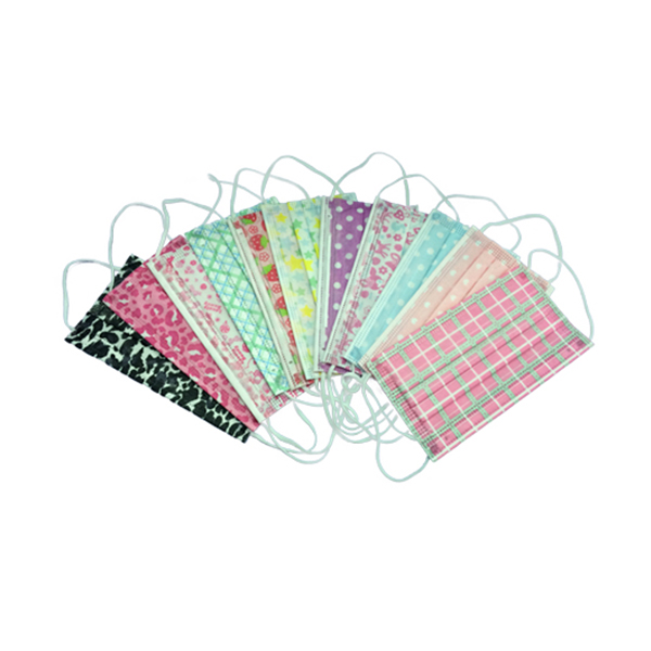 Disposable 3-ply Face Mask with Fashionable Patterns