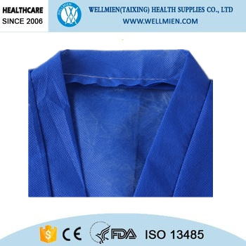 Disposable Non woven Sauna Suit for Spa