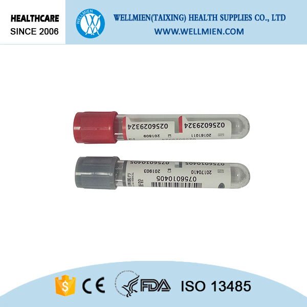 Disposable Vacuum Blood Collectin Tube for Clinical Use
